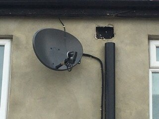 Sky Dish Installation in Harrow HA1, London. SatFocus