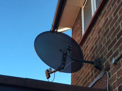 Sky Dish Supplied and Installed in Northolt, Ealing, London. SatFocus