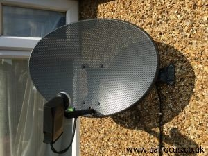 Sky Dish with Quad LNB Supplied and Installed | Southall, London SatFocus