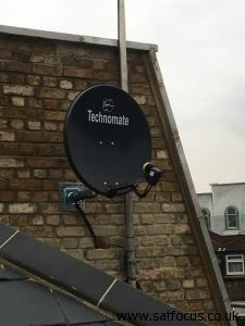 Communal Sky Satellite - Digital TV Aerial Supplied and Installed in London King's Cross. SatFocus