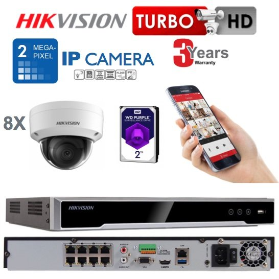 Hikvision IP Dome 2MP_8