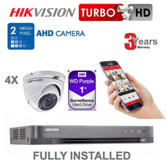 Hikvision Turret AHD 2mp-4