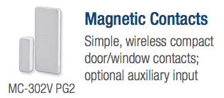 Visonic Magnetic Door Contact