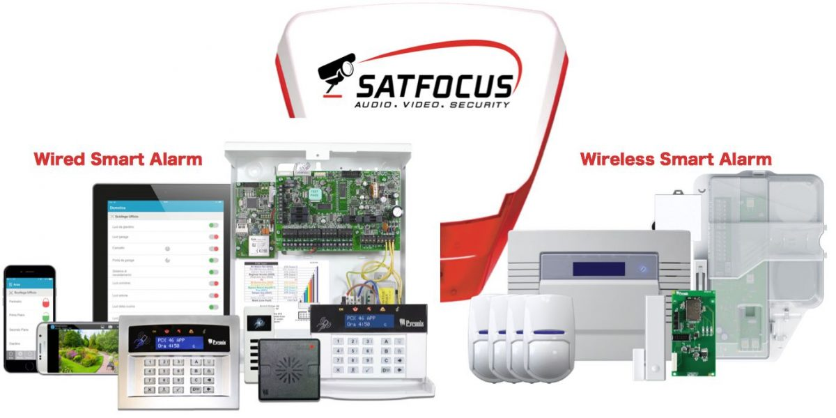 Wired and Wireless Alarm_Satfocus