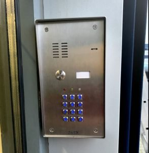 An access control systems installation SatFocus