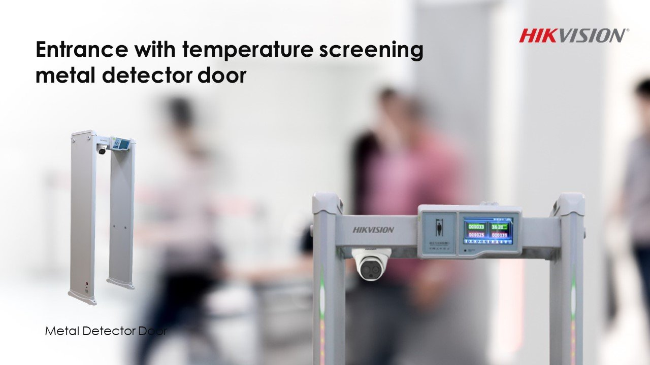 Body Temperature Screening Installation, London SatFocus