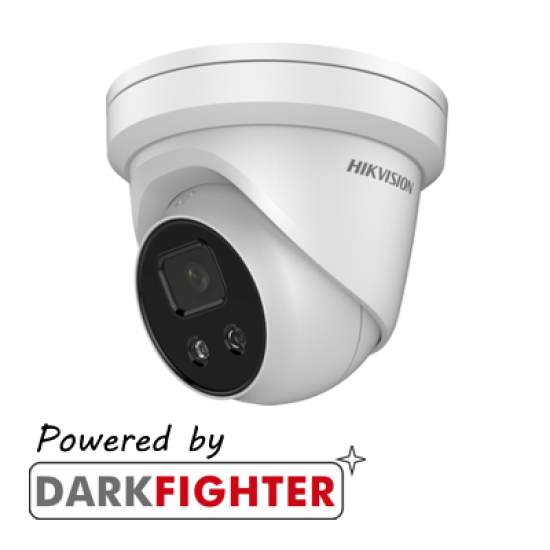 Hikvision AcuSense Outdoor IR Fixed Turret Network Camera