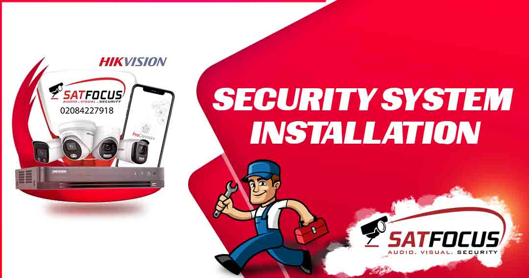 Security System Installation | Home Security Solutions SatFocus