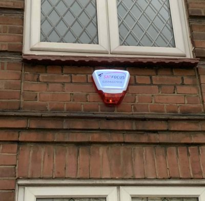 Burglar Alarm Wired Lightbox Siren