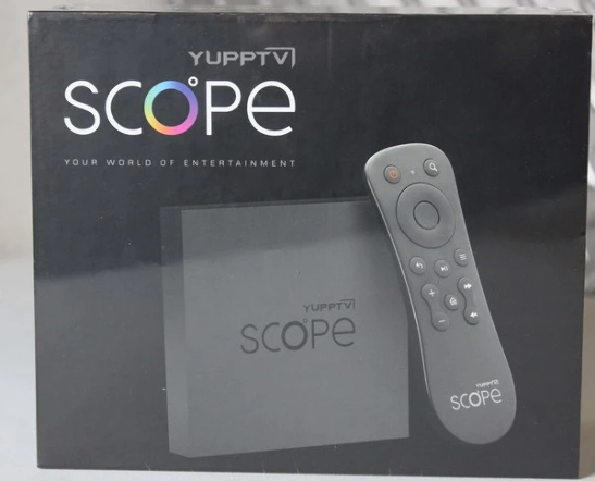 YuppTV Scope TV Box with 1 Year Subscription