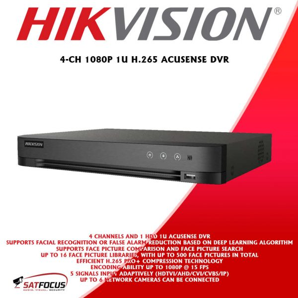 HIKVISION HD 5MP ColorVu CCTV Security Camera package