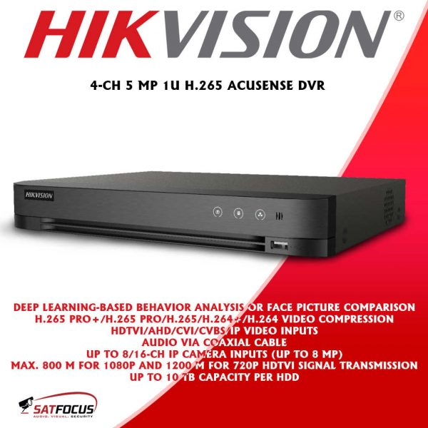 HIKVISION HD 8MP 4K CCTV Security Camera package