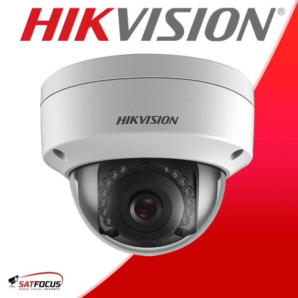HIKVISION HIWATCH 8CH DVR OUTDOOR 2MP VANDALPROOF Dome CCTV KIT