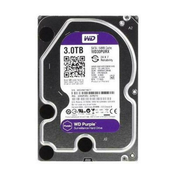 WD Purple 3.5″ SATA III Surveillance Hard Drive 1TB 2TB 3TB 4TB Capacity